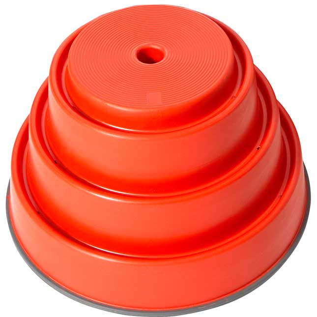 "Build N' Balance Top - Red 9½""H"