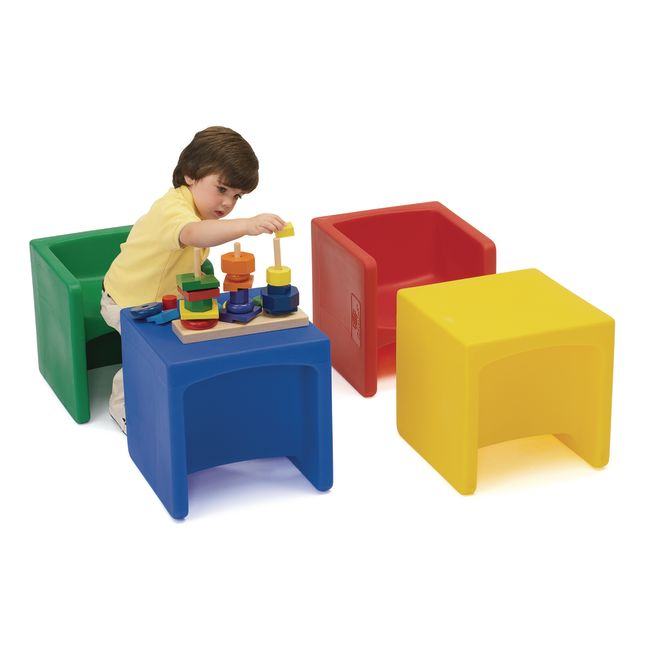 Cube Chairs - Set Of 4