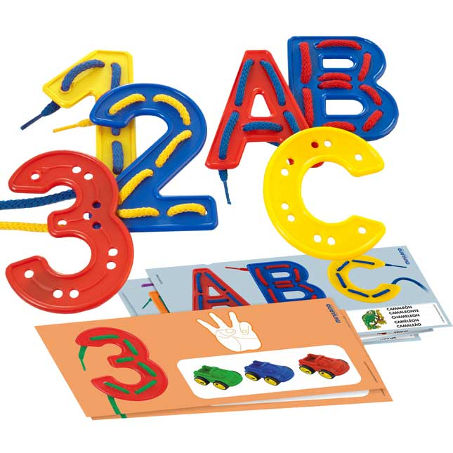 Letter And Number Lacing Activity Kit