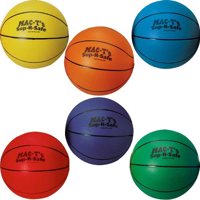 Sup-R-Safe Basketball - Set Of 6