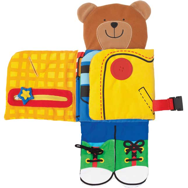Dress-Up Bear - Soft Activity Book