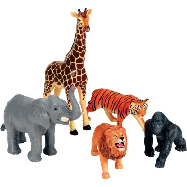 Jumbo Jungle Animals