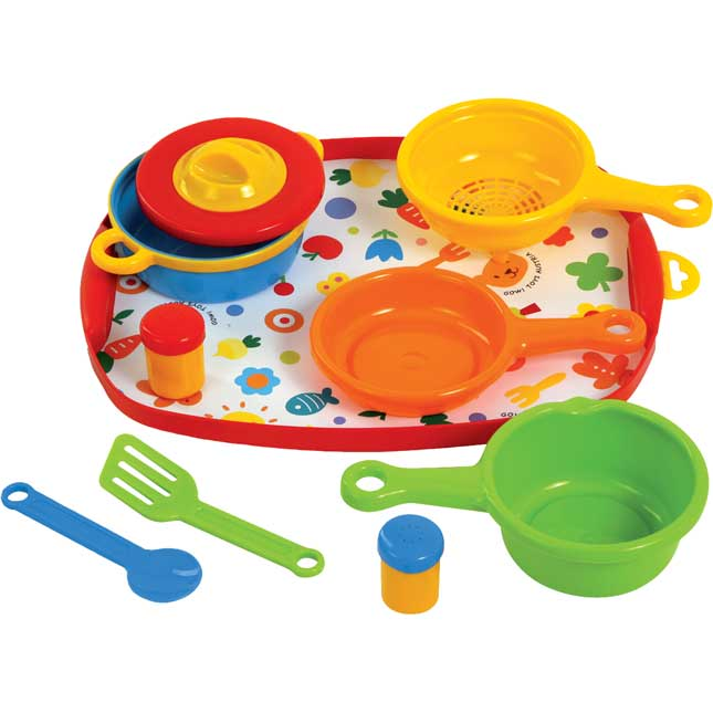 Play Cooking Set - 12-Piece Set