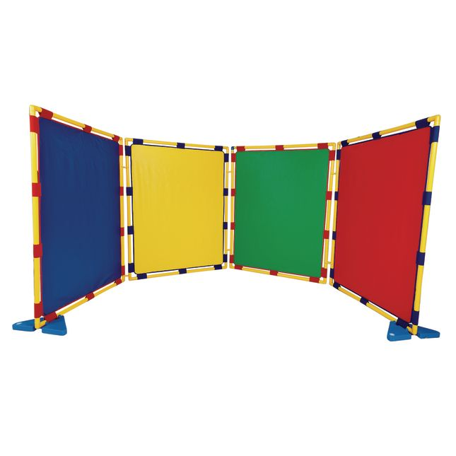 Big Screen Rainbow Play Panels - Set Of 4