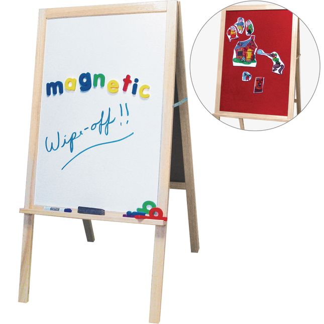 4-In-1 Classroom Easel - 1 easel