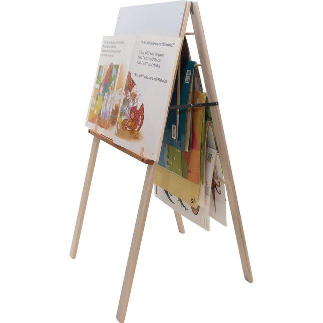 Hardwood Big Book Easel