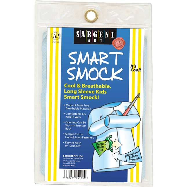 Sargent Art Cool and Breathable Smart Smocks - Set of 12