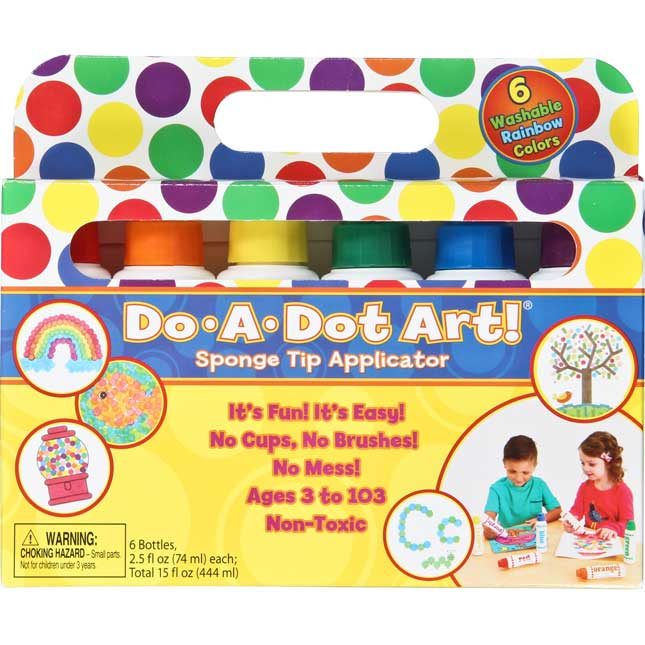 Do-A-Dot Art! 6-Pack Rainbow Markers