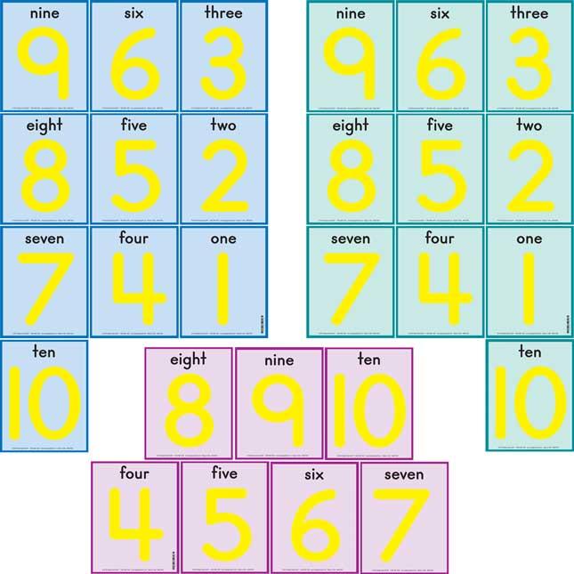 Ten-Frames Practice Mats