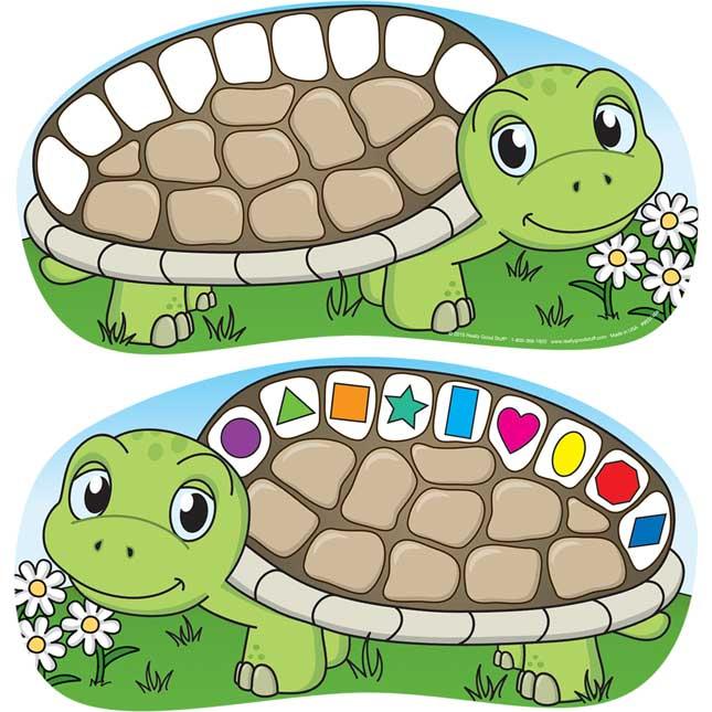 Clip-A-Shape Turtles Kit - 42-piece kit