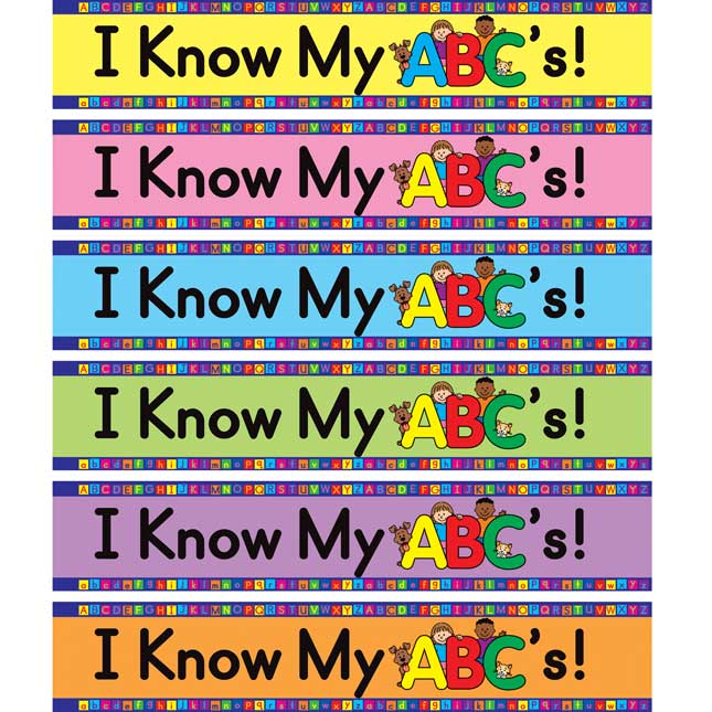I Know My ABCs! Loop Bracelets