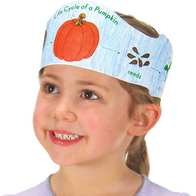 Ready-To-Decorate® Life Cycle Of A Pumpkin Crowns