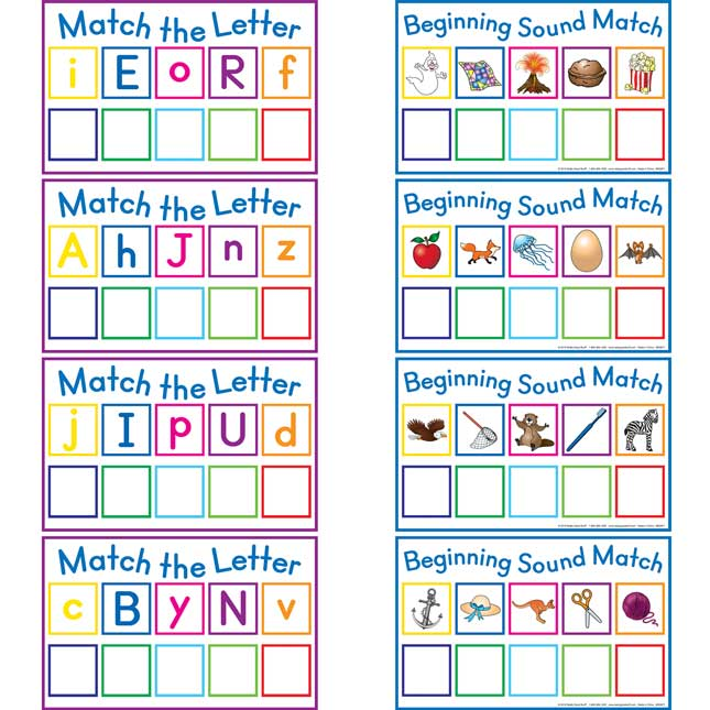 Letter Match Mats™ And Letters Kit