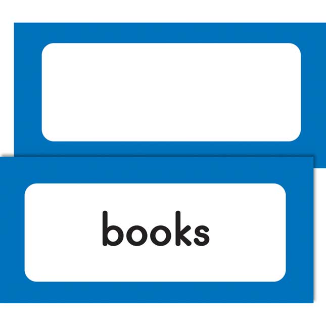Early Childhood Classroom Labels
