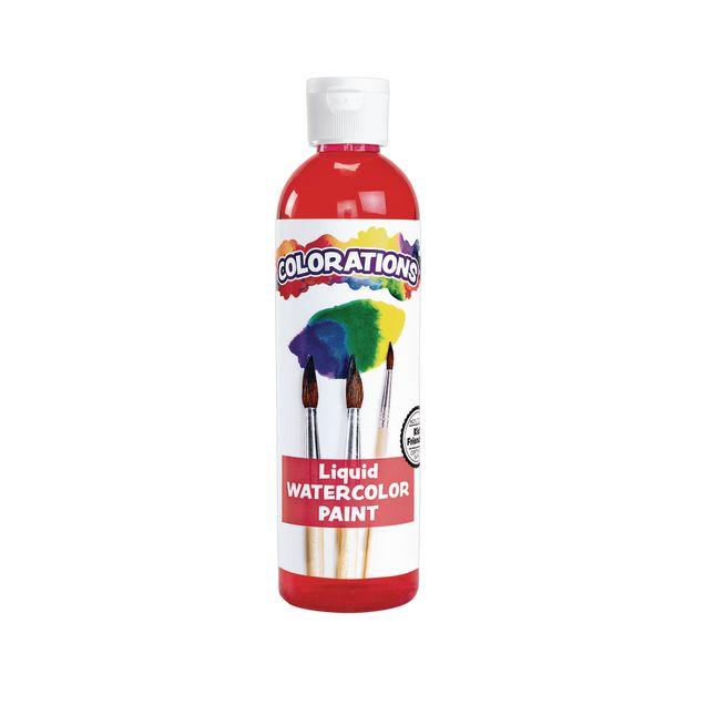 Colorations Liquid Watercolor Paint Red 8 oz