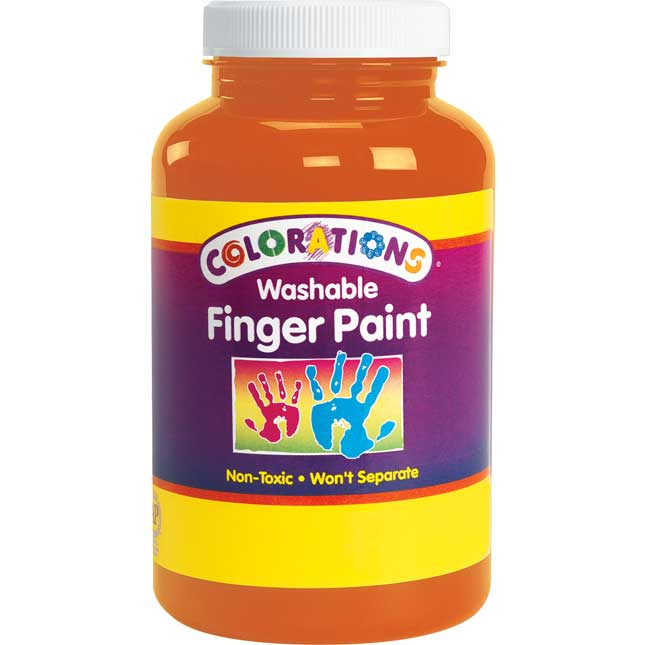 Colorations® Washable Finger Paint - 16 oz.