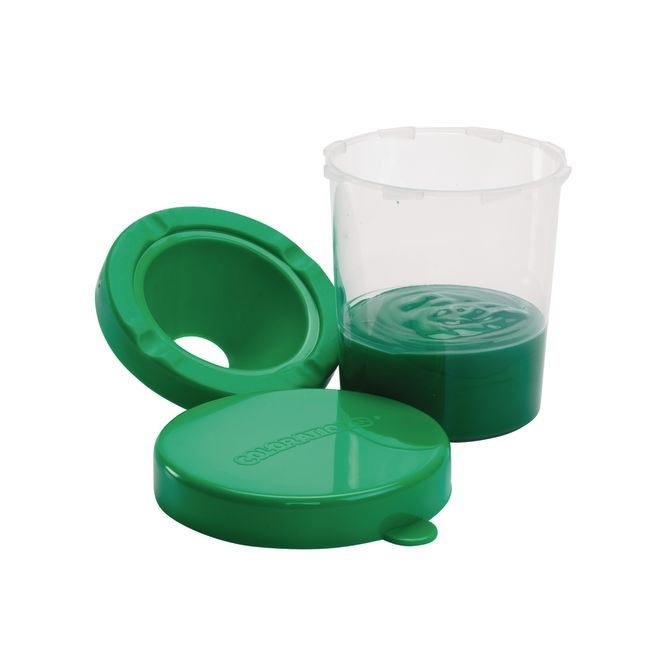 Colorations Air Tight No Mess Paint Cups Set of 10