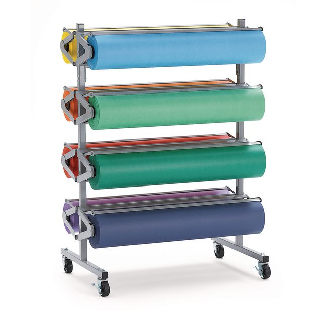 """Colorations® Dual Surface Paper Roll, 36"""" x 1000'"""