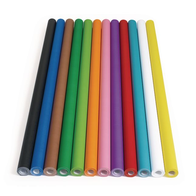"""Colorations® 48"""" X 60' Prima-Color™ Fade-Resistant Paper Rolls - 1 roll of paper"""