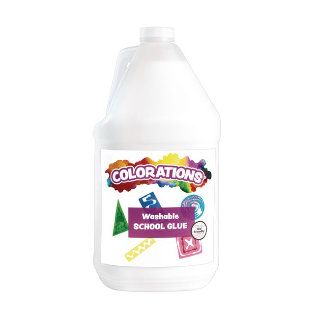 Colorations® Washable School Glue - 1 Gallon