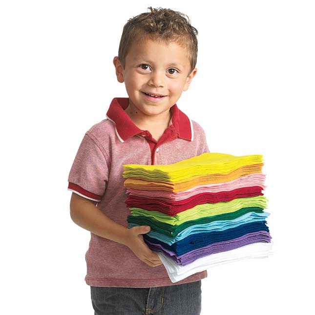 Colorations Easy Felt Sheets 6 x 9 100 Sheets