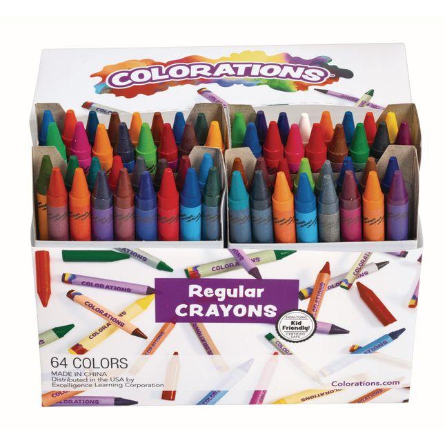 Colorations 64 Regular Crayons_0