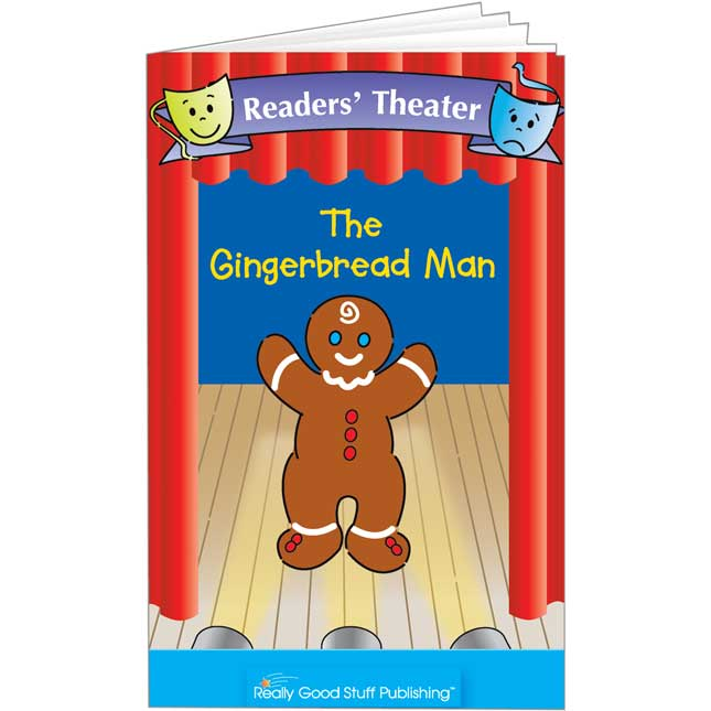 Really Good Readers' Theater - The Gingerbread Man Book