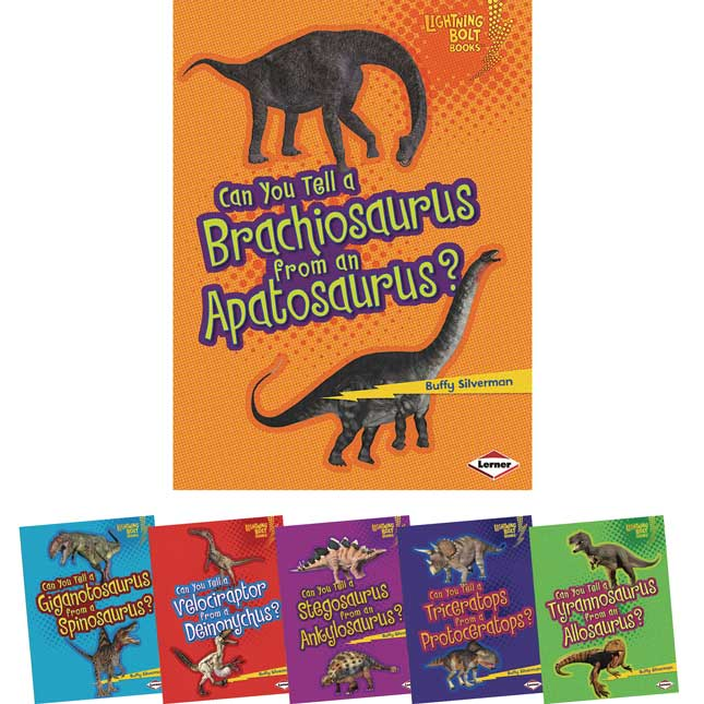 Dinosaur Look-Alikes 6-Book Set
