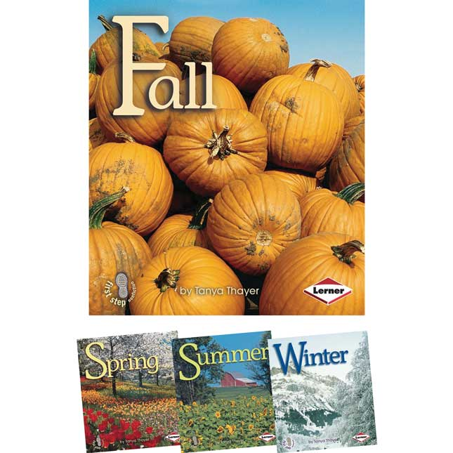 First Step Nonfiction: Seasons - 4-Book Set