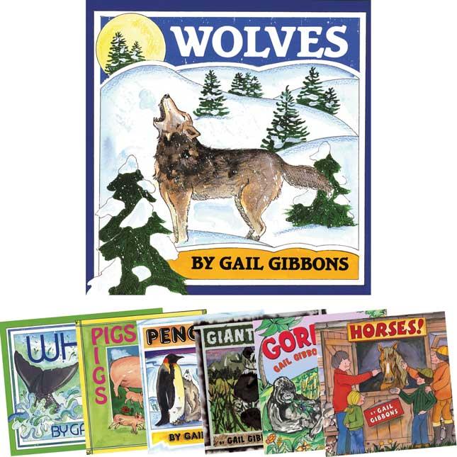 Gail Gibbons Animals - 7-Book Set