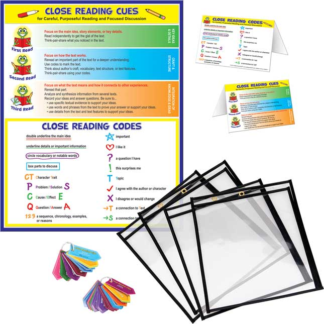 Close Reading Classroom Kit - Grades K-6