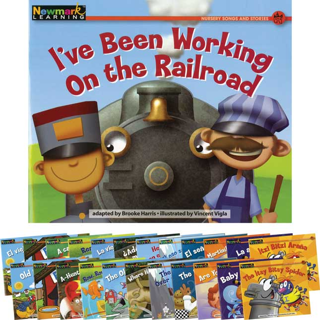 Rising Readers Fiction - Nursery Songs And Stories Dual Language Set