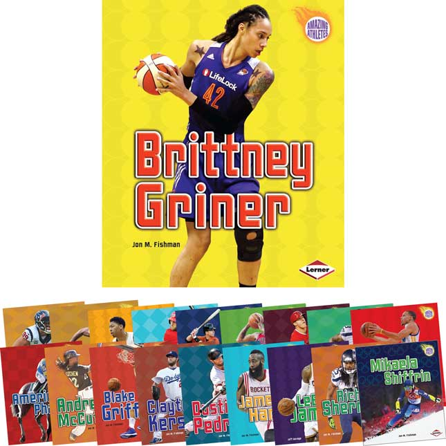 Amazing Athletes 19-Book Set