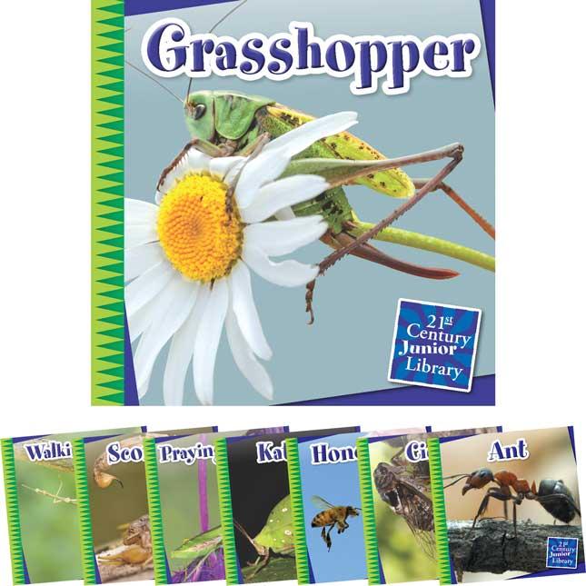 Creepy Crawly Critters 8-Book Set