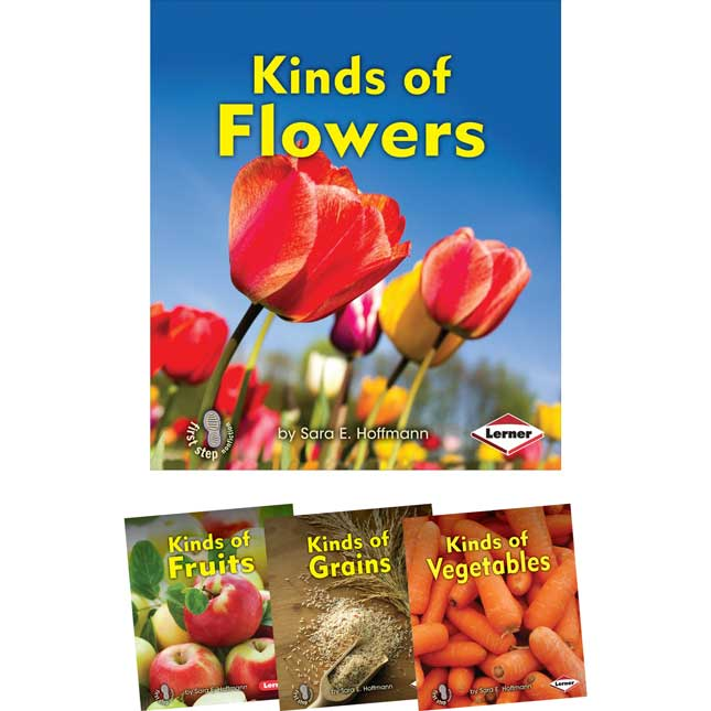 First Step Nonfiction: Kinds Of Plants 4-Book Set