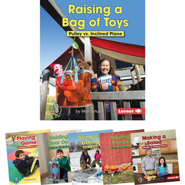 First Step Nonfiction: Simple Machines To The Rescue 6-Book Set