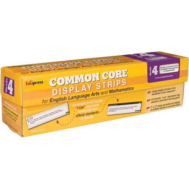 Common Core Display Strips - Grade 4