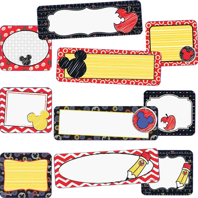 Mickey® Color Pop! Label Stickers