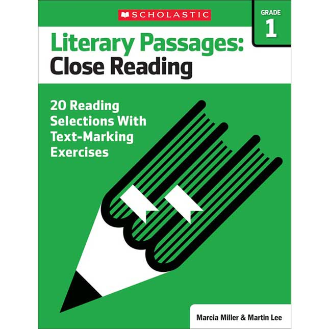 Literary Passages: Close Reading Book