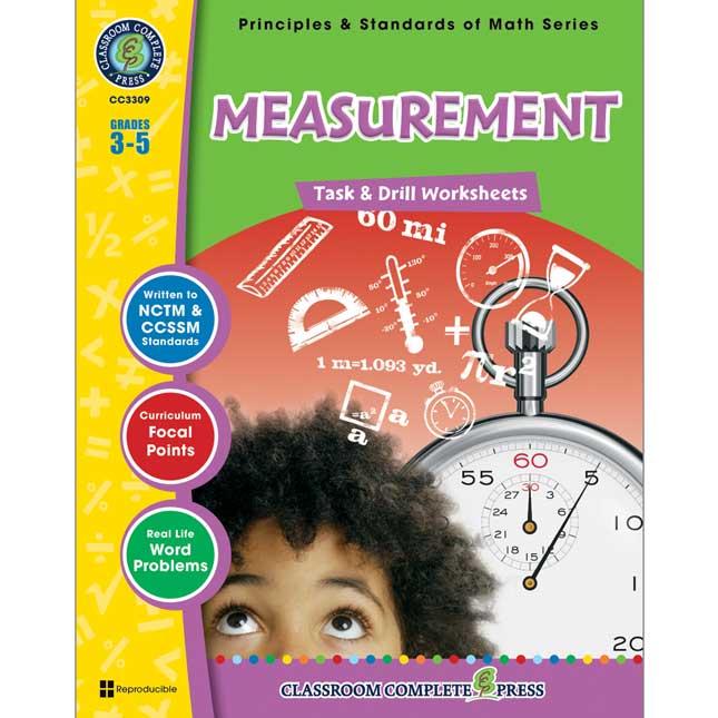 Measurement Book - Grades 3-5