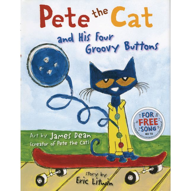 Pete The Cat® And His Four Groovy Buttons Book