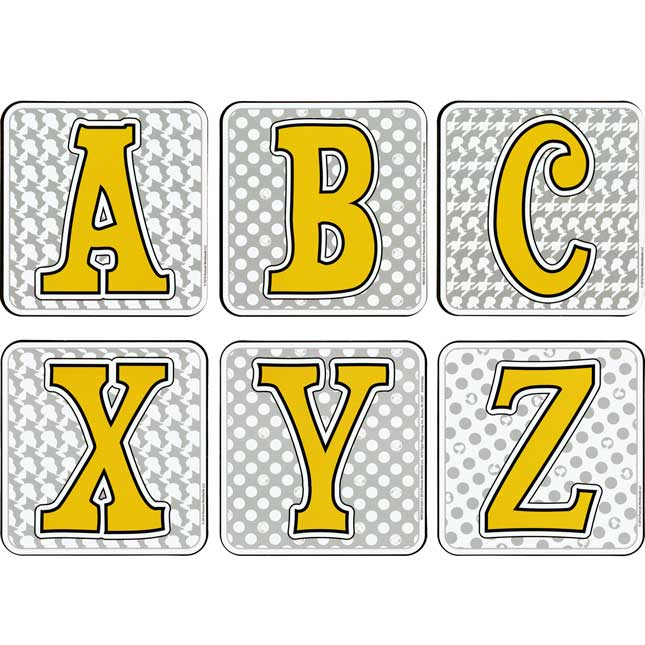"""Peanuts® Touch Of Class 4"""" Deco Letters"""