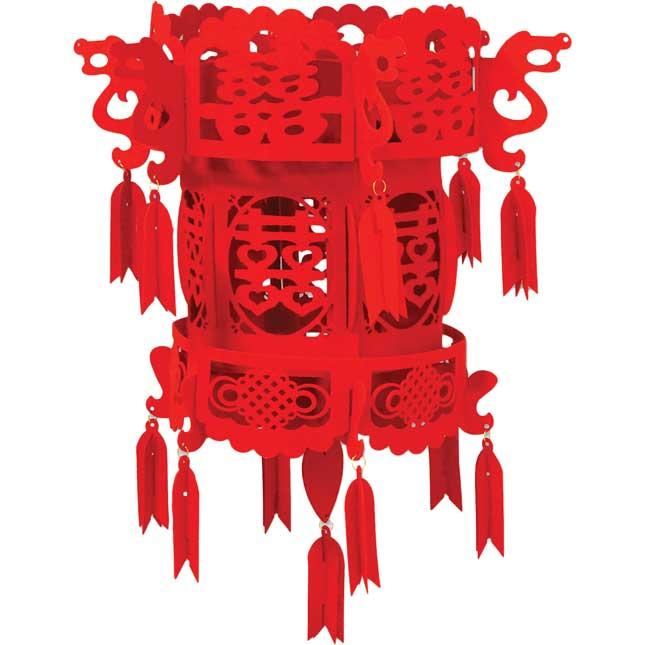 Chinese New Year Felt Chinese Palace Lantern