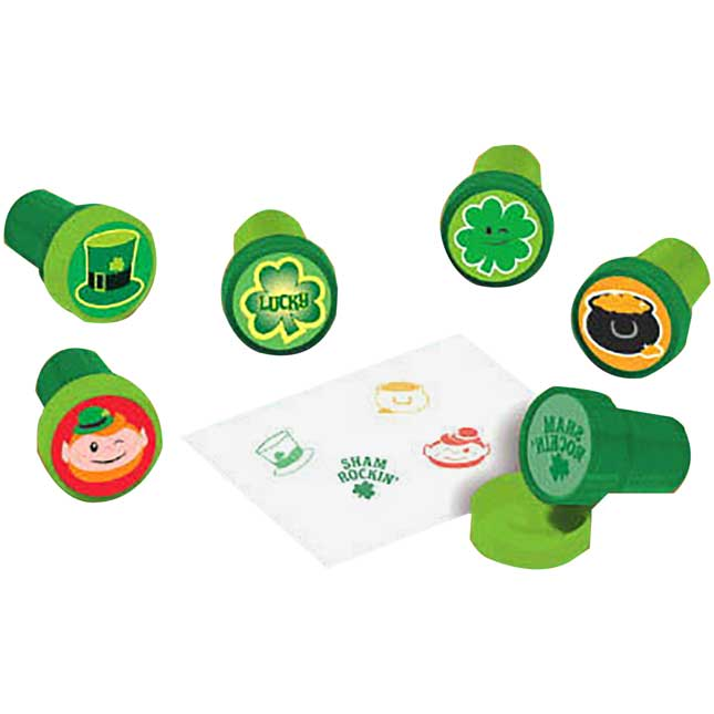 Saint Patrick's Day Plastic Stampers