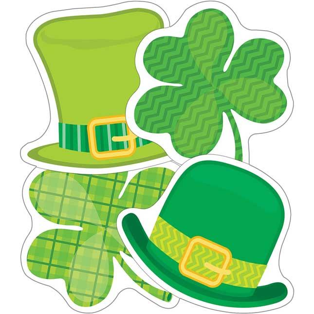 St. Patrick's Day Mini Cutouts