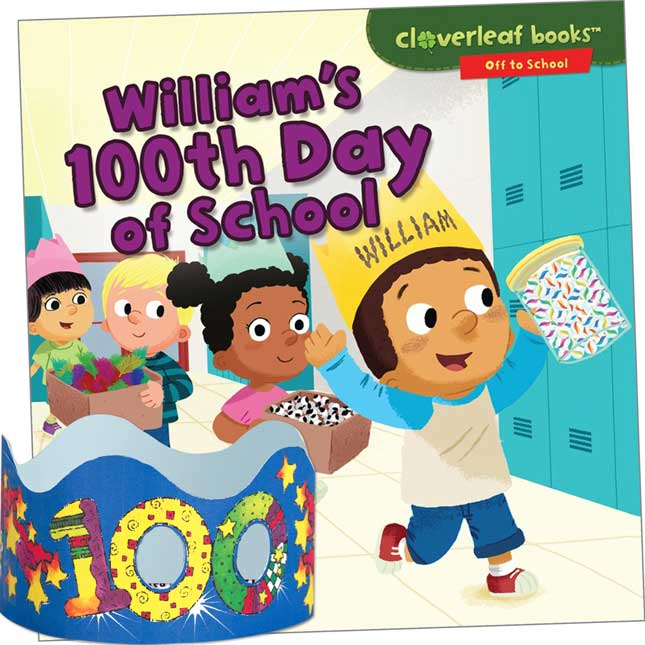 William's 100th Day Of School And 100th Day Crowns