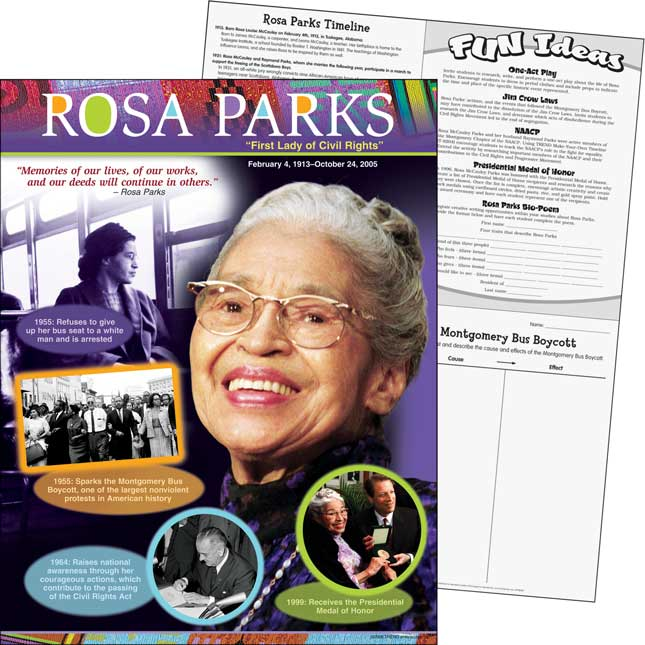 Rosa Parks Learning Chart