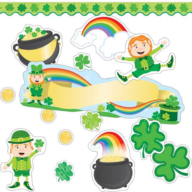 St. Patrick's Day Bulletin Board Kit