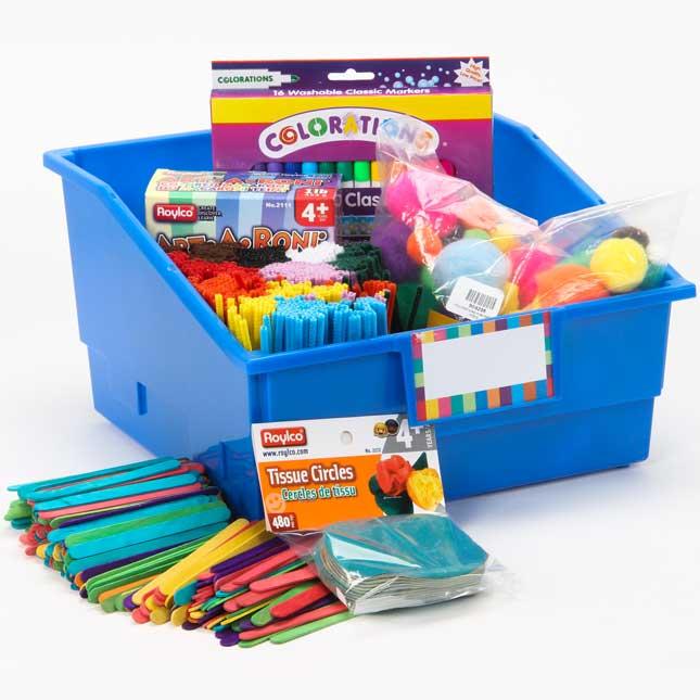 Arts and Crafts Kit - 1 multi-item kit
