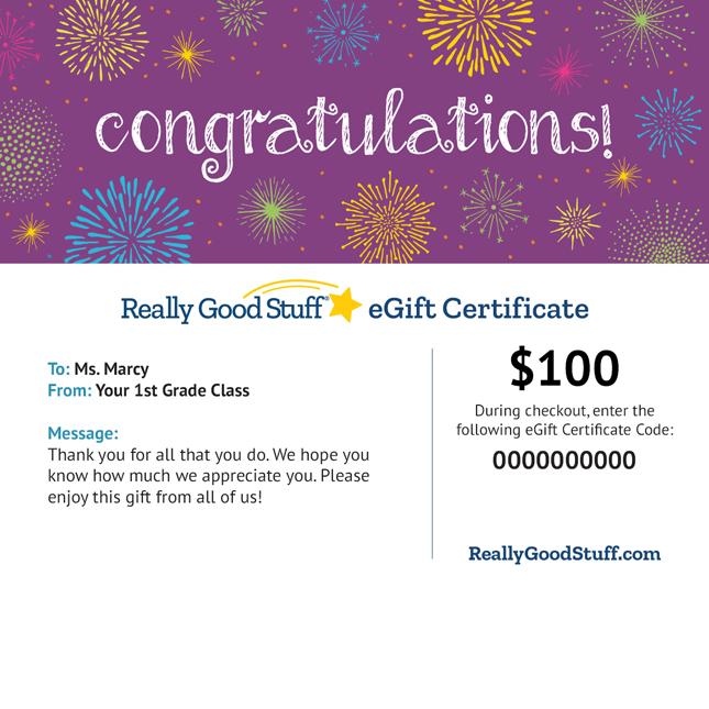 eGift Certificate